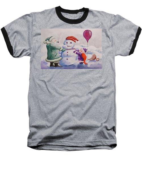 It's Cold Grandpa Baseball T-Shirt