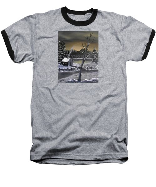 It's Cold Outside Baseball T-Shirt by Sheri Keith