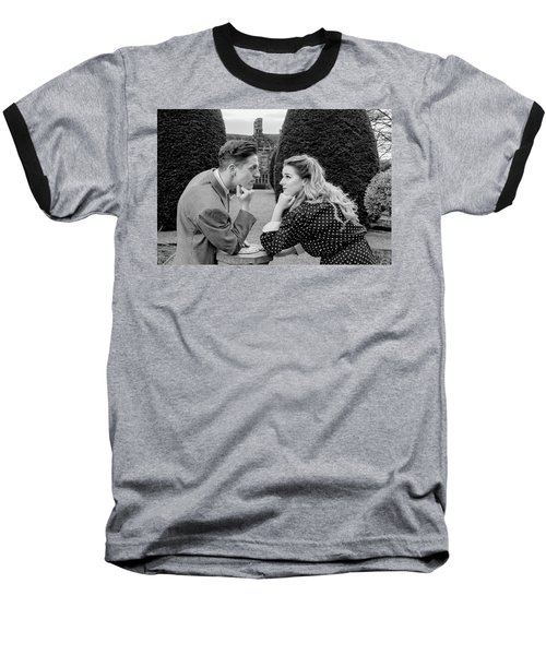 It's In The Eyes Bw Baseball T-Shirt