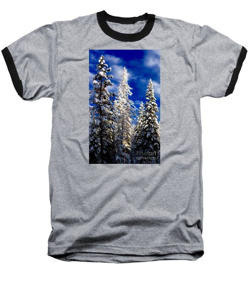 Its Now Crystal Clear Baseball T-Shirt