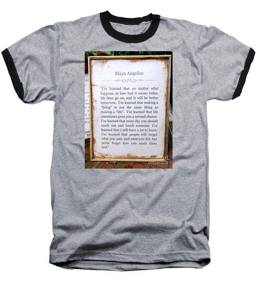 I've Learned Baseball T-Shirt