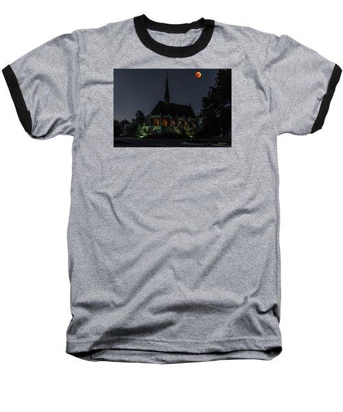 Ivy Chapel Under The Blood Moon Baseball T-Shirt