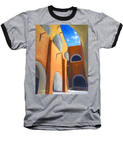 Izamal - Monastery San Antonio De Padua  Baseball T-Shirt