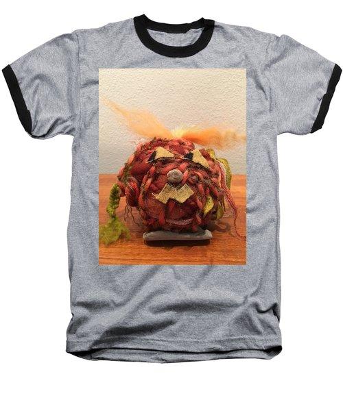 Jack-o-lantern Baseball T-Shirt