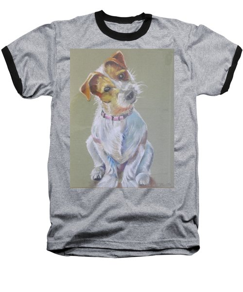 Jack Russell Watching You Baseball T-Shirt