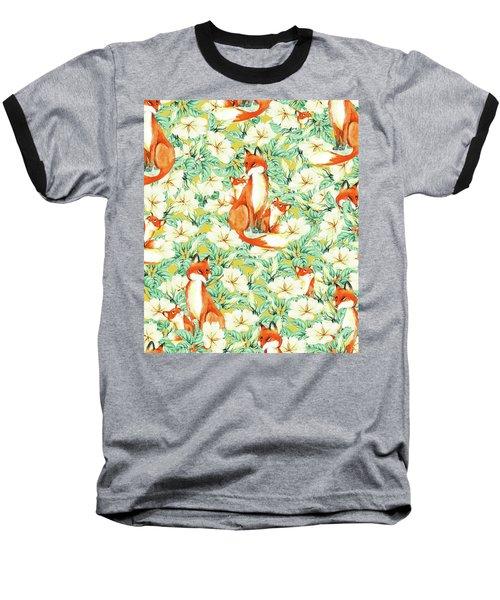 Jackals Baseball T-Shirt by Uma Gokhale