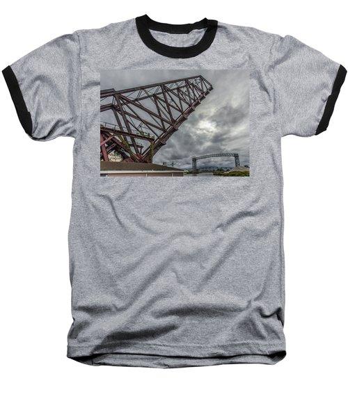Jackknife Bridge To The Clouds Baseball T-Shirt