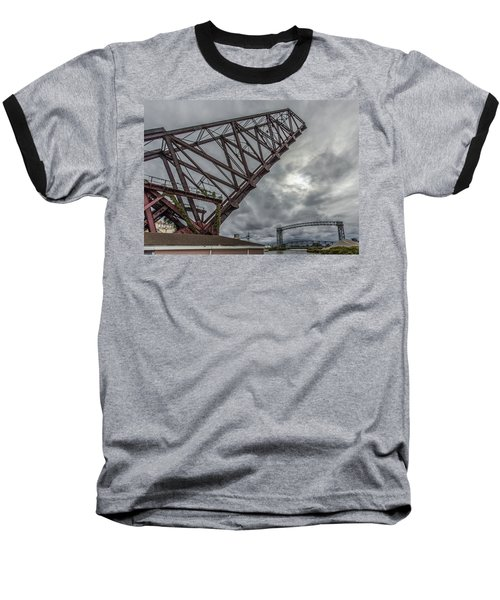 Jackknife Bridge To The Clouds Baseball T-Shirt