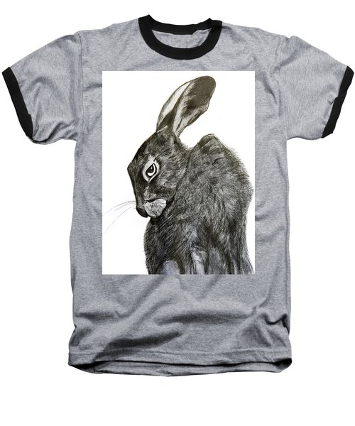 Jackrabbit Jock Baseball T-Shirt by Linde Townsend
