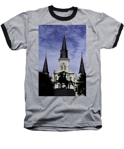 Jackson Square - Color Baseball T-Shirt