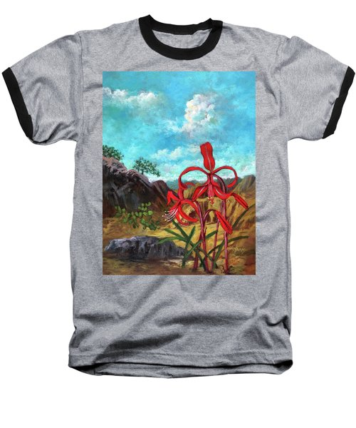 Jacobean Lily Of Mexico Baseball T-Shirt