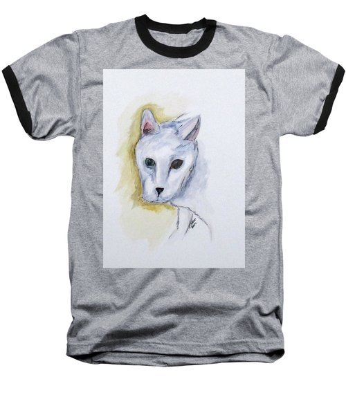 Jade The Cat Baseball T-Shirt