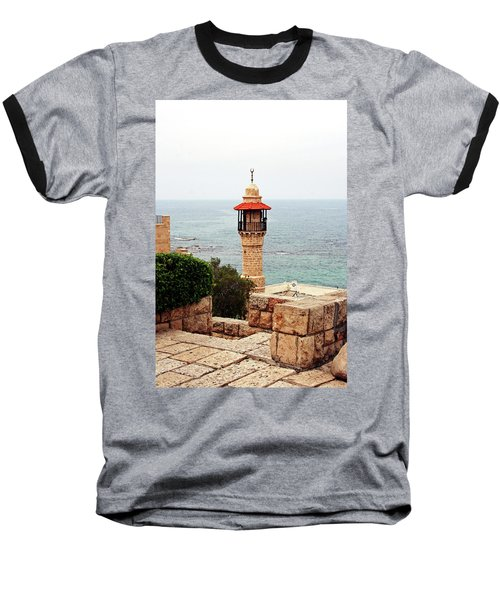 Baseball T-Shirt featuring the photograph Jaffa Israel by Denise Moore