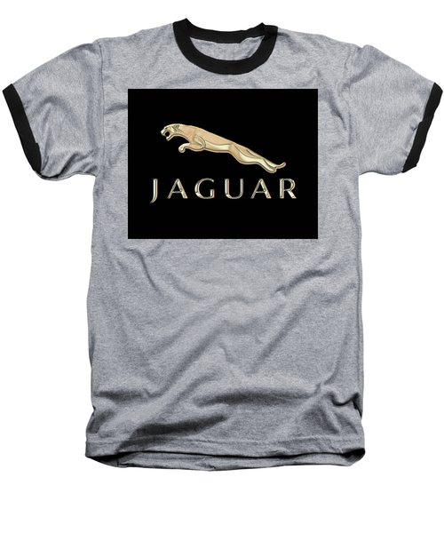 Jaguar Car Emblem Design Baseball T-Shirt