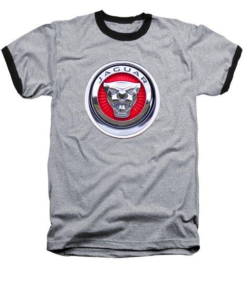 Jaguar Emblem Baseball T-Shirt