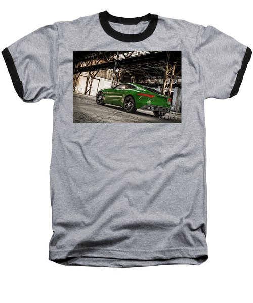 Jaguar F-type - British Racing Green - Rear View Baseball T-Shirt