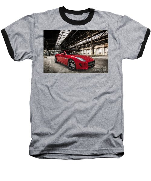 Jaguar F-type - Red - Front View Baseball T-Shirt