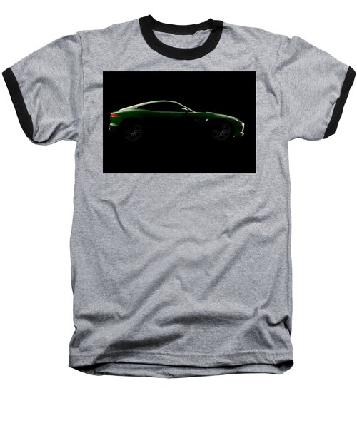Jaguar F-type - Side View Baseball T-Shirt