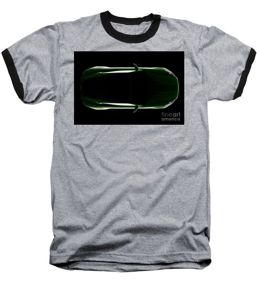 Jaguar F-type - Top View Baseball T-Shirt