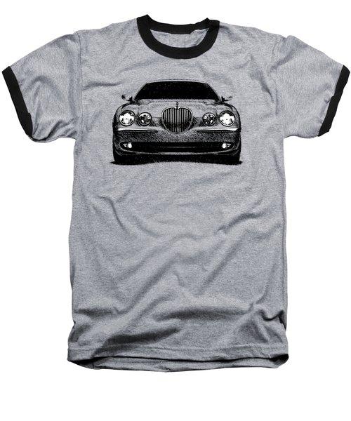 Jaguar S Type Baseball T-Shirt by Mark Rogan
