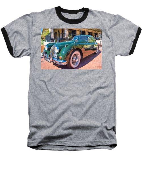 Baseball T-Shirt featuring the photograph Jaguar Xk Classic by Dan McManus
