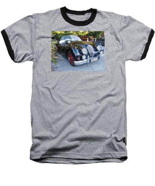Jaguar140_ots Baseball T-Shirt by Kathryn Barry