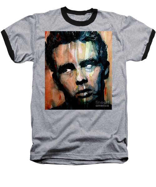 James Dean Baseball T-Shirt