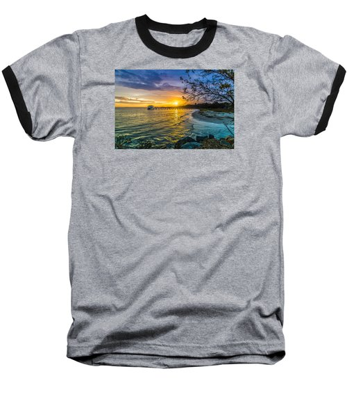 James Island Sunrise - Melton Peter Demetre Park Baseball T-Shirt