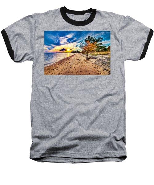 James River Sunset Baseball T-Shirt
