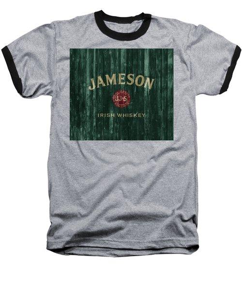 Jameson Irish Whiskey Barn Door Baseball T-Shirt