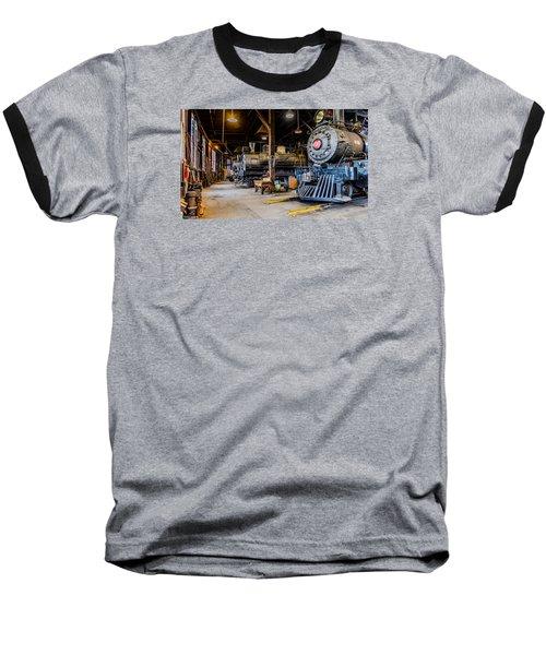 Jamestown Roundhouse Baseball T-Shirt