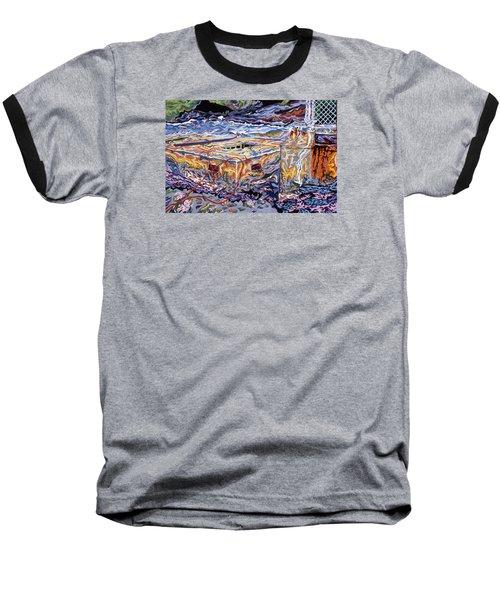 Jamestown Sea Construction Site Baseball T-Shirt by Robert SORENSEN