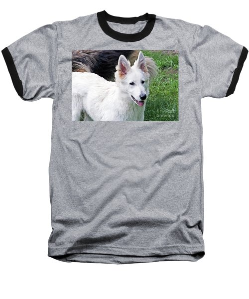 Janie As A Pup Baseball T-Shirt