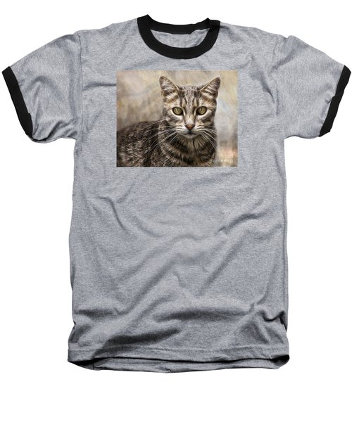 Janie's Kitty Baseball T-Shirt