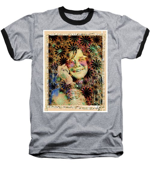 Janis Joplin Baseball T-Shirt