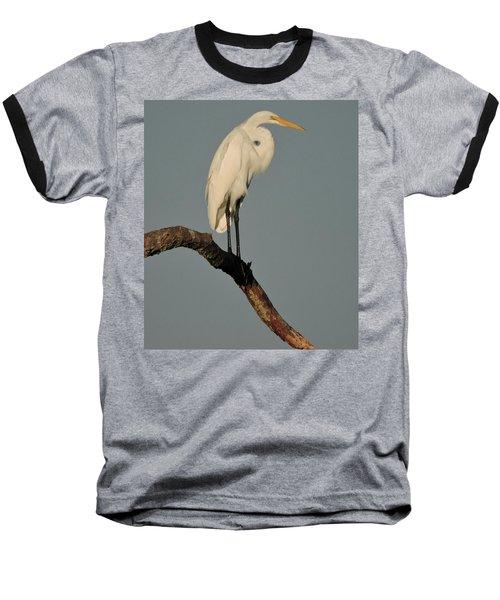 January Egret Baseball T-Shirt