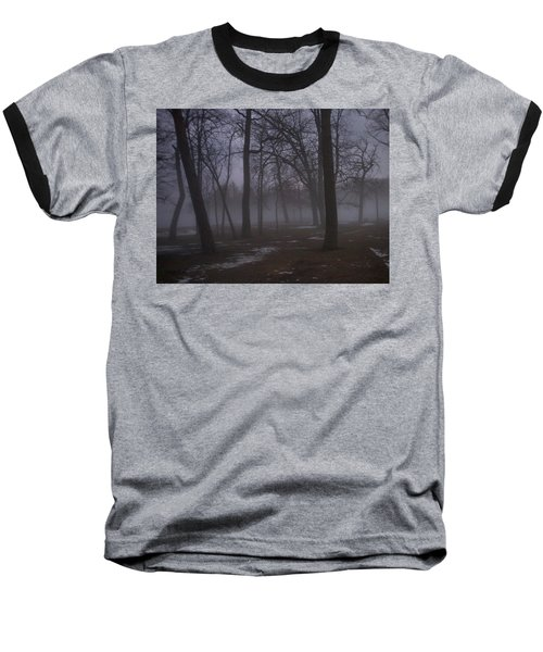 January Fog 2 Baseball T-Shirt