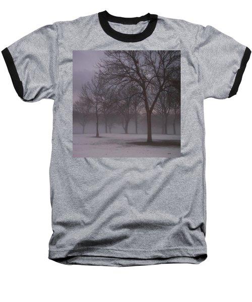 January Fog 4 Baseball T-Shirt
