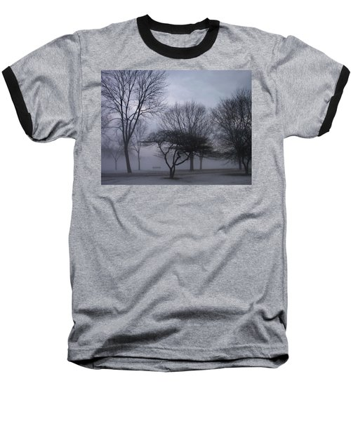 January Fog 6 Baseball T-Shirt