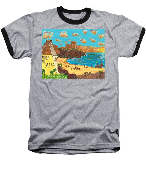 January Pyramid By The Bay Baseball T-Shirt