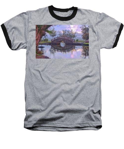 Japanese Footbridge Baseball T-Shirt