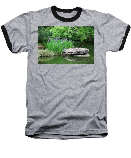 Japanese Gardens - Spring 02 Baseball T-Shirt