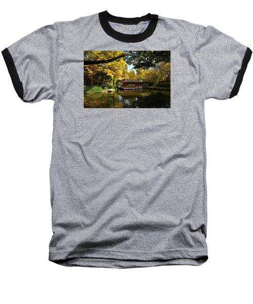 Japanese Gardens 2541a Baseball T-Shirt by Ricardo J Ruiz de Porras