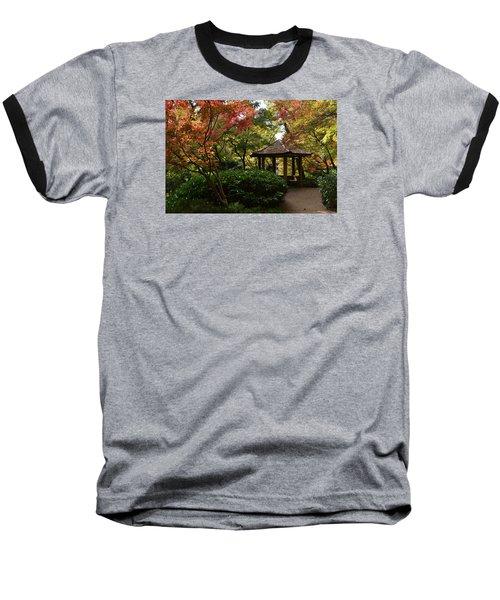 Japanese Gardens 2577 Baseball T-Shirt by Ricardo J Ruiz de Porras