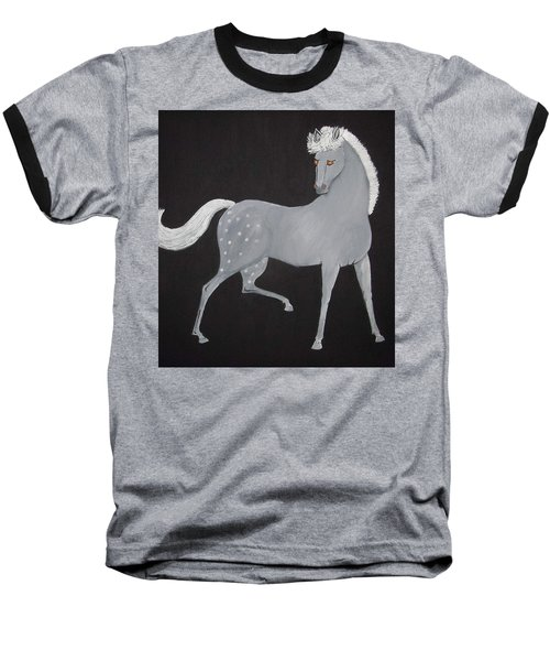 Japanese Horse 2 Baseball T-Shirt