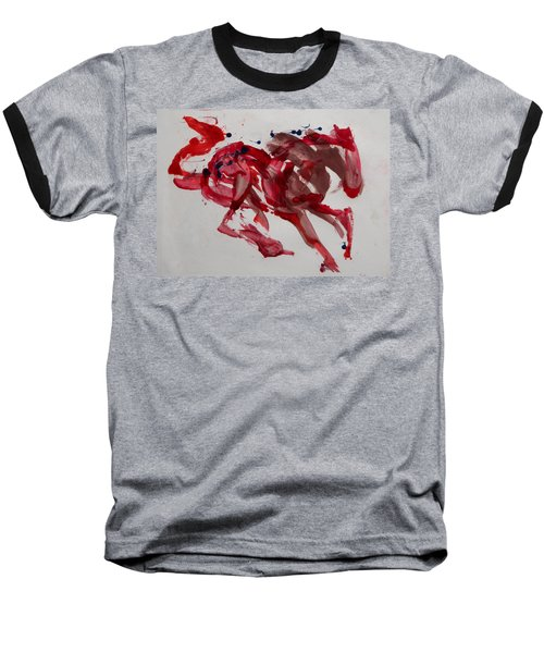 Japanese Horse Baseball T-Shirt