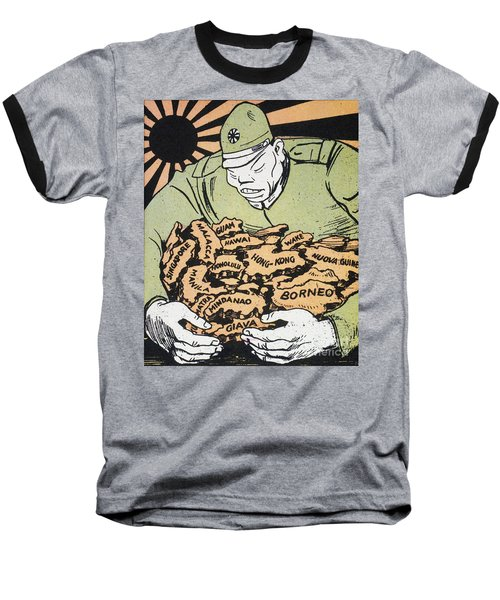 Baseball T-Shirt featuring the photograph Japanese Imperialism by Granger