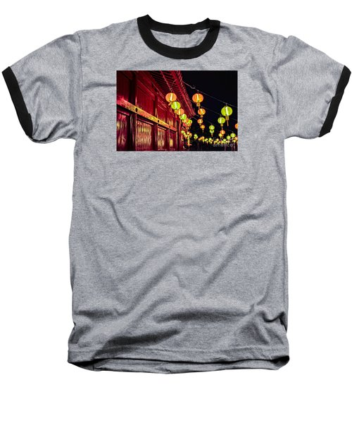 Japanese Lanterns 10 Baseball T-Shirt