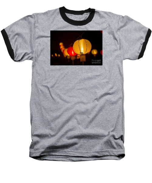 Japanese Lanterns 3 Baseball T-Shirt