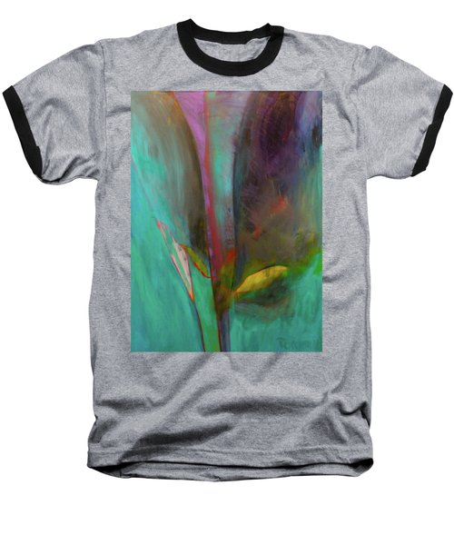 Baseball T-Shirt featuring the painting Japanese Longstem  by Iconic Images Art Gallery David Pucciarelli